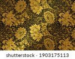 vintage botanical pattern remix ... | Shutterstock . vector #1903175113
