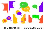 dialogue chat balloons. call to ...   Shutterstock .eps vector #1903253293