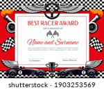 best racer award diploma vector ... | Shutterstock .eps vector #1903253569