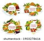 Italian Cuisine Vector Turin...