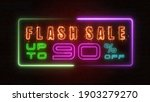 flashing sale up to percent off ... | Shutterstock . vector #1903279270