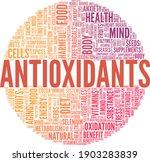 antioxidants vector... | Shutterstock .eps vector #1903283839