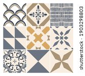 Abstract Decorative Tiles....