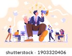 arrogance or selfish management ...   Shutterstock .eps vector #1903320406