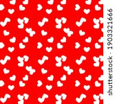 festive background with heart... | Shutterstock . vector #1903321666