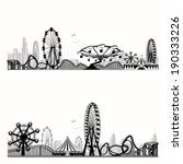 vector illustration.roller... | Shutterstock .eps vector #190333226