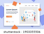 business people working on... | Shutterstock .eps vector #1903355506