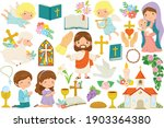 christianity clipart bundle.... | Shutterstock .eps vector #1903364380