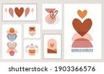 bohemian  boho valentines day... | Shutterstock .eps vector #1903366576