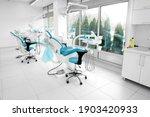 Interior Of A Modern Dentist...