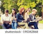 summer  internet  education ... | Shutterstock . vector #190342868