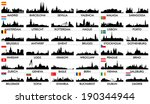 city skyline european... | Shutterstock .eps vector #190344944