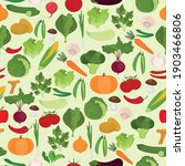 seamless vector pattern with... | Shutterstock .eps vector #1903466806