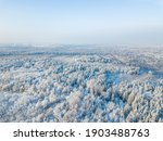 snow in forest. moscow region.... | Shutterstock . vector #1903488763
