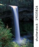 silver falls on silver falls... | Shutterstock . vector #19035826