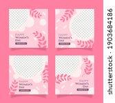 international women day social...   Shutterstock .eps vector #1903684186