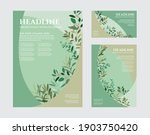hand drawn vector floral...   Shutterstock .eps vector #1903750420