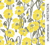 seamless pattern with yellow...   Shutterstock . vector #1903752676
