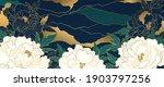 luxury gold floral oriental... | Shutterstock .eps vector #1903797256