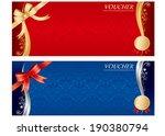voucher vector | Shutterstock .eps vector #190380794