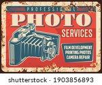 photo camera photography studio ... | Shutterstock .eps vector #1903856893