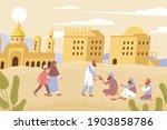 ramadan charity flat... | Shutterstock .eps vector #1903858786