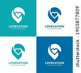 love location logo design... | Shutterstock .eps vector #1903877809