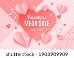 valentine's day sale  special... | Shutterstock . vector #1903909909