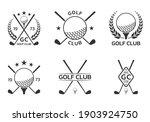 golf club logo  badge or icon... | Shutterstock .eps vector #1903924750