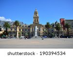 cape town city hall. front view ... | Shutterstock . vector #190394534