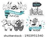 easter vector illustration for... | Shutterstock .eps vector #1903951540