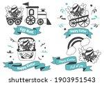 easter vector illustration for... | Shutterstock .eps vector #1903951543