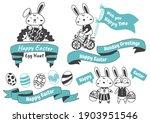 easter vector illustration for... | Shutterstock .eps vector #1903951546