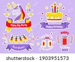 party label vector logo for... | Shutterstock .eps vector #1903951573