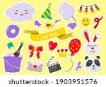 party label vector logo for... | Shutterstock .eps vector #1903951576