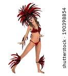 dancer | Shutterstock . vector #190398854