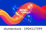 new formula color background... | Shutterstock .eps vector #1904117599
