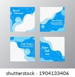 set of sale banner template... | Shutterstock .eps vector #1904133406
