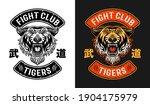 tiger fight club  martial arts...   Shutterstock .eps vector #1904175979