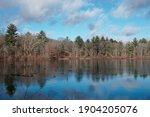 Winter Scenery Of Leach Pond...