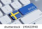 sweden high resolution byod... | Shutterstock . vector #190423940