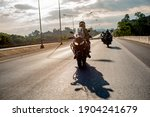 Unidentified Rider With...