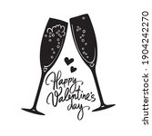 happy valentine's day... | Shutterstock .eps vector #1904242270