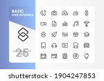 basic ui icon pack for your web ...