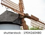 Old Historical Windmill In...
