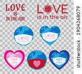 Concept Badges About Love In...