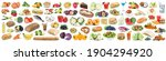 food and drink collection...   Shutterstock . vector #1904294920