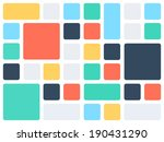 abstract background pattern... | Shutterstock .eps vector #190431290