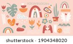 set  doodle style drawings of... | Shutterstock .eps vector #1904348020