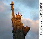 Statue Of Liberty Close Up...